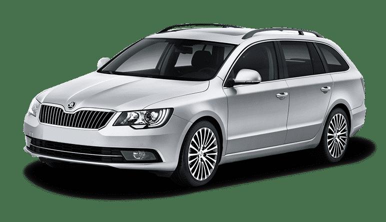 Grupa D+ – Skoda Superb Combi Wypożyczalnia samochodów Carmas