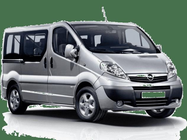 Grupa BUS – Opel Vivaro, Peugeot Expert Wypożyczalnia samochodów Carmas